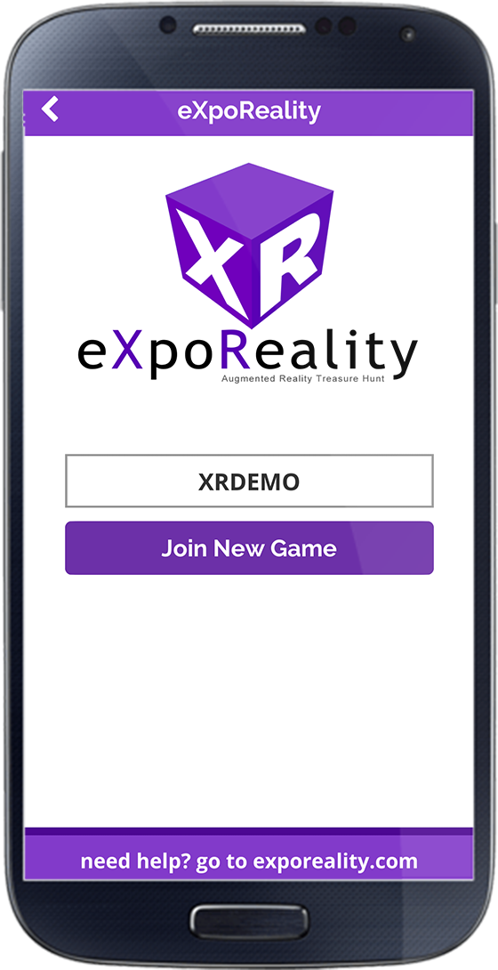 eXpoReality Join Screen